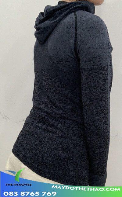 áo khoác nữ sọc thể thao