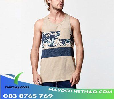 áo tanktop nam 3d