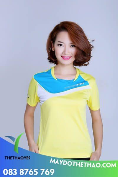 mẫu áo thể thao nữ đẹp cao cấp