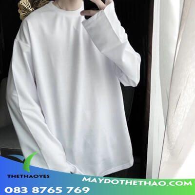 áo tay dài form rộng hàn quốc
