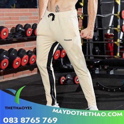 quần dài tập gym nam cao cấp