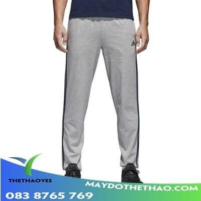quần dài thể thao nam 2 sọc