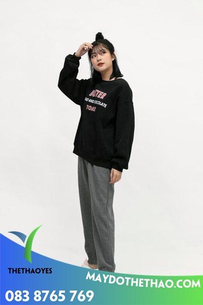 quần nữ ống rộng taobao trending