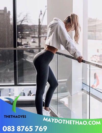 may quần tập gym nữ rẻ