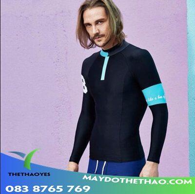 áo bơi tay dài nam phong cách