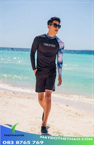áo bơi tay dài nam 2020