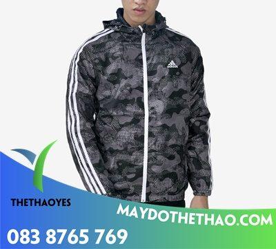 áo khoác dù 2 mặt nam