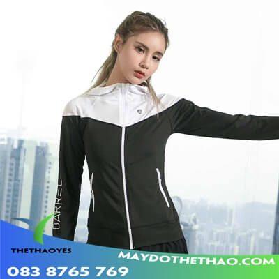 áo khoác gym nữ dep