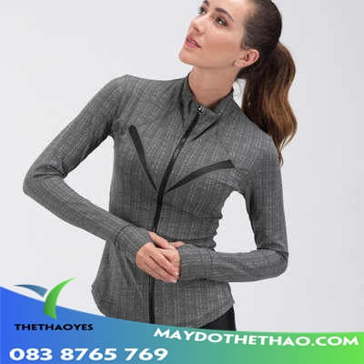 áo khoác gym nữ 2021