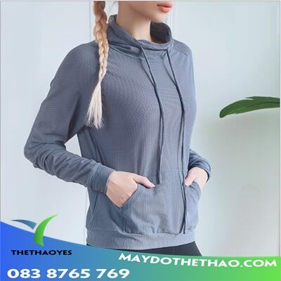 áo khoác gym nữ size lớn