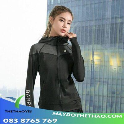 áo khoác gym nữ lững