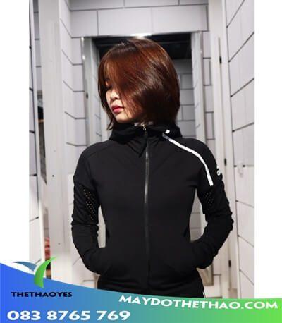 áo khoác gym nữ dài