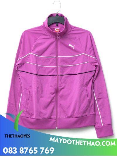 áo màu hồng khoác