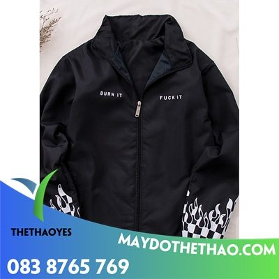 áo khoác dù 2 mặt