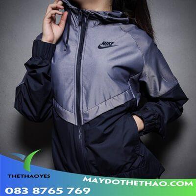áo khoác nữ dáng thể thao