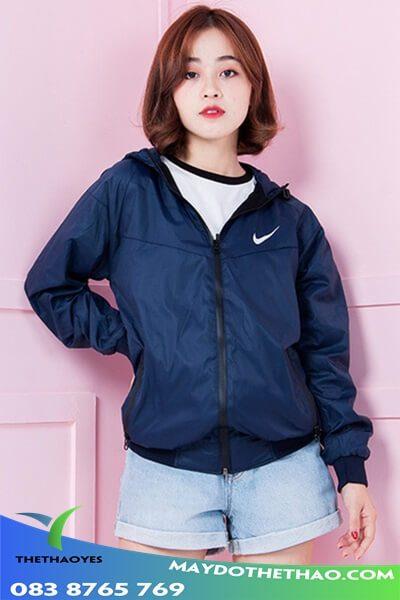 áo khoác kaki thể thao nữ