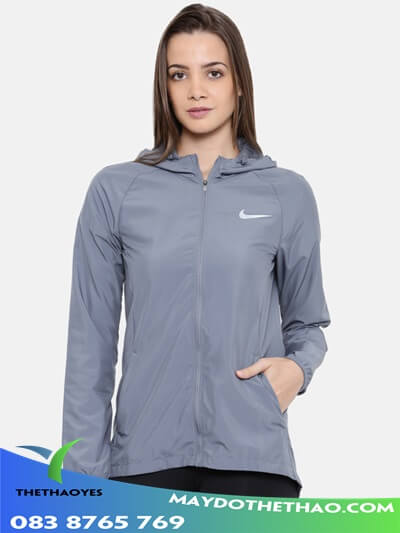 áo khoác lửng thể thao nữ
