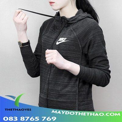 áo khoác thể thao nữ chính hang