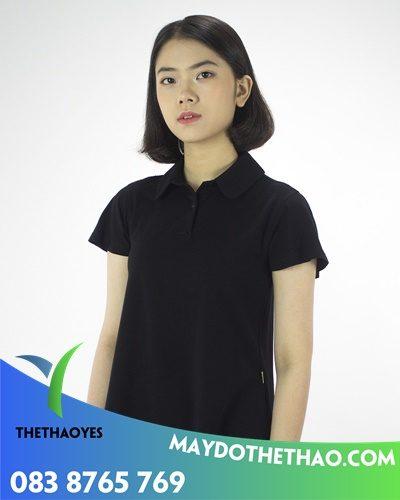 công ty may áo phông cổ bẻ nữ tay dài