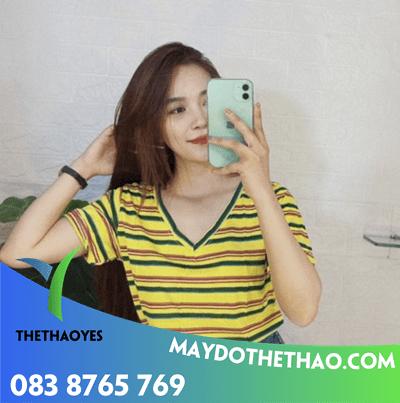 may áo thun cotton