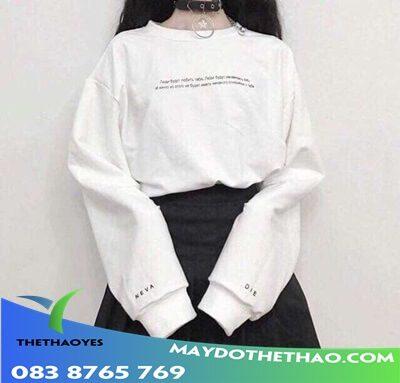 áo thun nữ tay dài đẹp giá rẻ