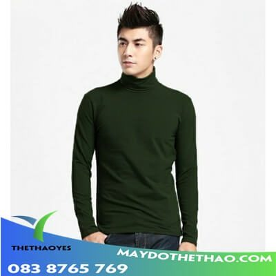 áo thun trơn tay dài nam mùa đông