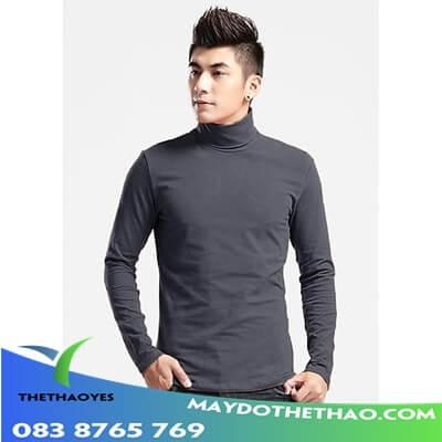 áo thun trơn tay dài nam big size