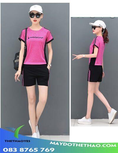 đồ bộ thể thao nữ tập gym