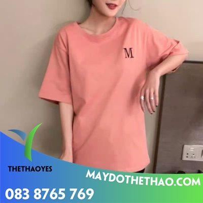 may áo phông nữ rộng