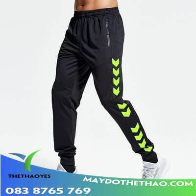 quần dài chạy bộ nam phong cách