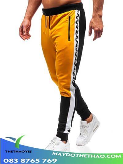 quần dài chạy bộ nam fake