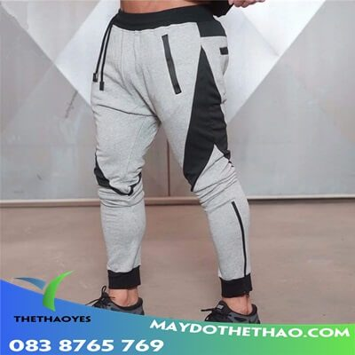 quần dài tập gym nam mùa hè
