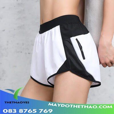 quần đùi thể thao nữ vnxk