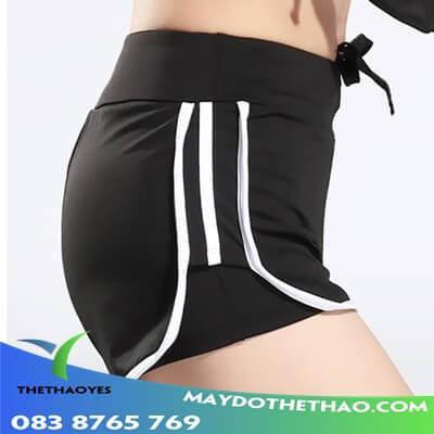 quần đùi thể thao nữ xuất khẩu