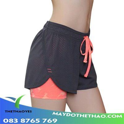 quần đùi thể thao nữ cao cấp