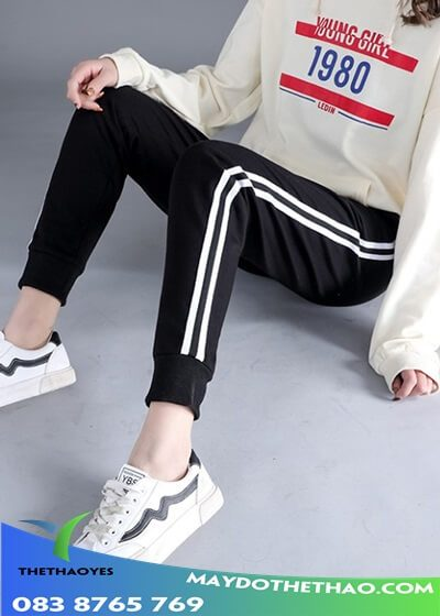 quần jogger túi hộp nữ xịn
