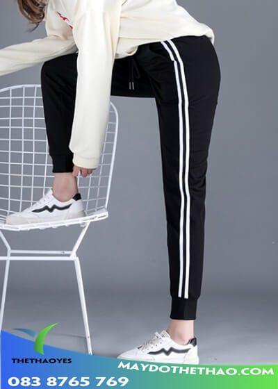 nhận may quần jogger túi hộp nữ theo yêu cầu