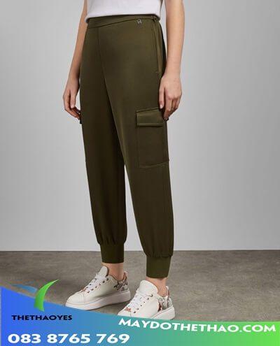 quần jogger túi hộp nữ xuất khẩu