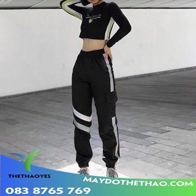 quần jogger túi hộp nữ cao cấp