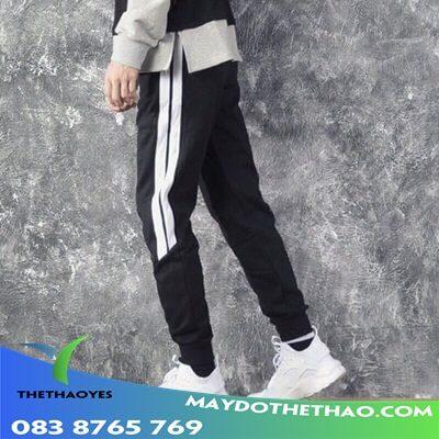 quần dài thể thao nam vải
