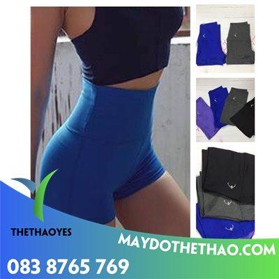 xưởng may quần lững tập gym nữ lưng cao giá rẻ