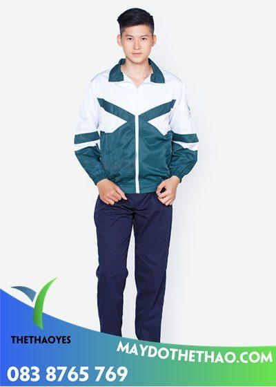may áo khoác đồng phục học sinh giá rẻ
