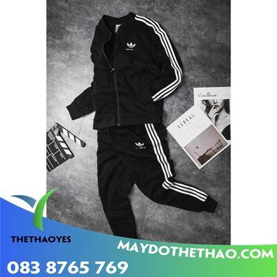 may áo khoác adidas