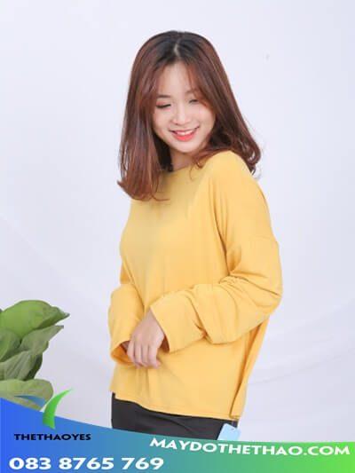 áo thun tay dài nữ tphcm