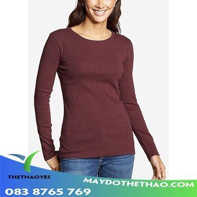 áo thun tay dài nữ hàn quốc form rộng