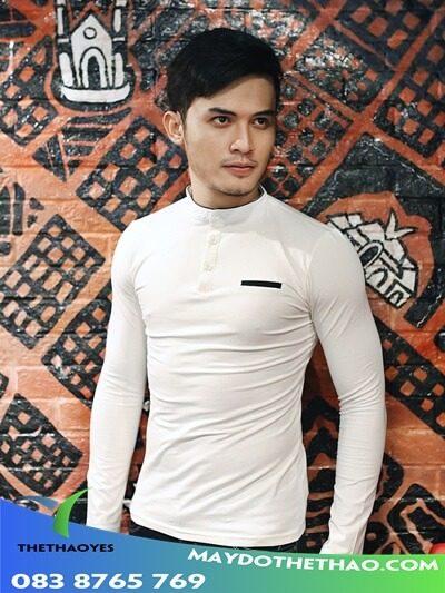 áo phông tay dài nam body