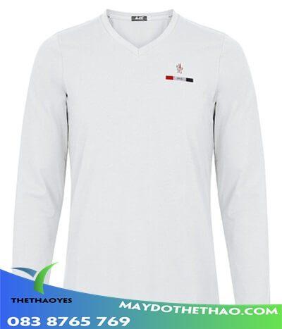 mua áo thun trắng dài tay nam
