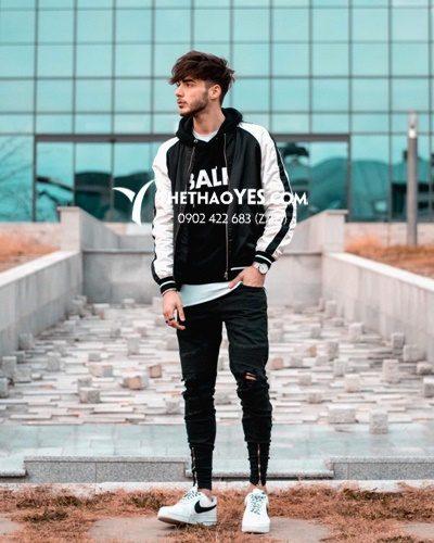 áo khoác bóng chày nam