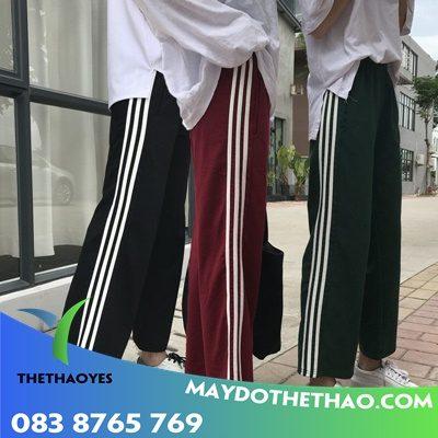 may quần áo thể thao nam nữ