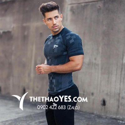 áo gymshark tay ngắn
